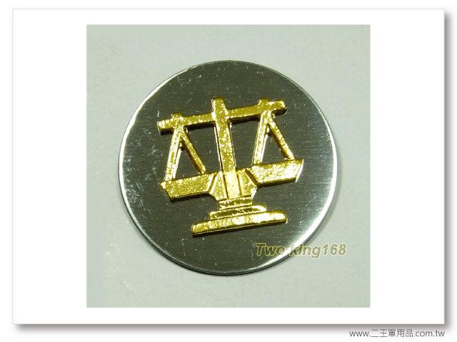 60年代早期領章(軍法)(鋁質)(老K領章)一個100元