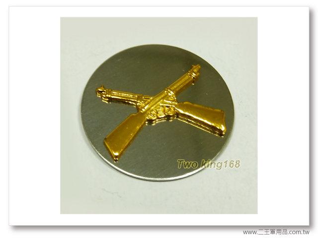 60年代早期領章(步兵)(鋁質)(老K領章)一個100元