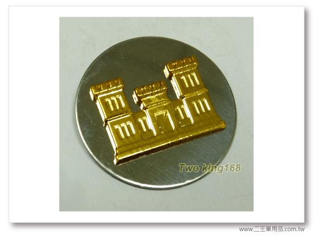 60年代早期領章(工兵)(鋁質)(老K領章)一個100元