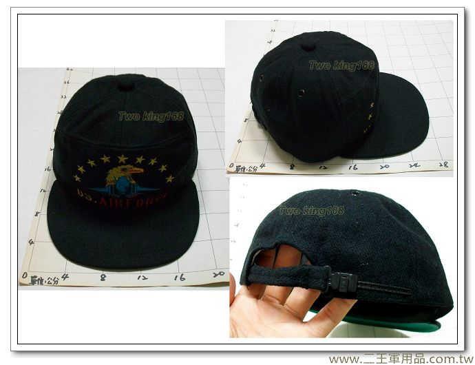 美國空軍小帽(雷虎小組)絨布材質NO-2-49-180元