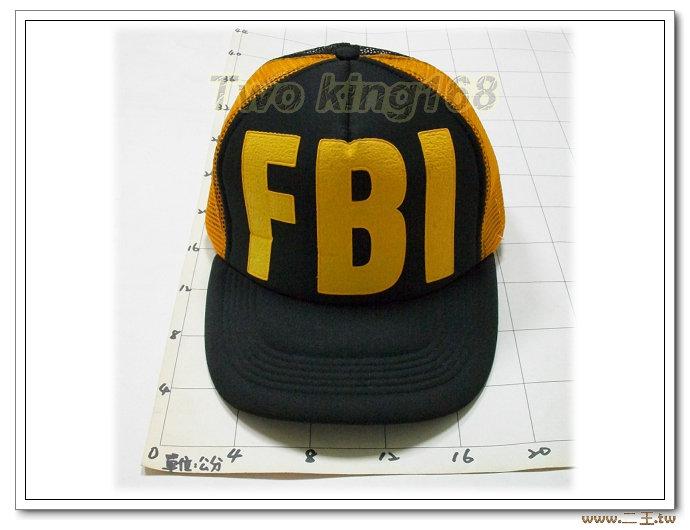 ★FBI透氣網帽NO.3-15★Cosplay★軍帽★小帽★棒球帽★闊邊帽★八角帽★潮流