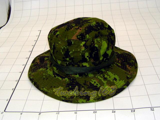 ★☆加拿大數位迷彩擴邊帽★☆軍帽★☆闊邊帽★叢林帽 漁夫帽