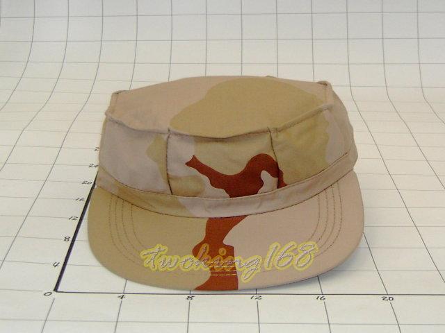 ★美軍三色沙漠八角帽(十字格布)★Cosplay★軍帽★小帽★棒球帽★闊邊帽★八角帽★潮流