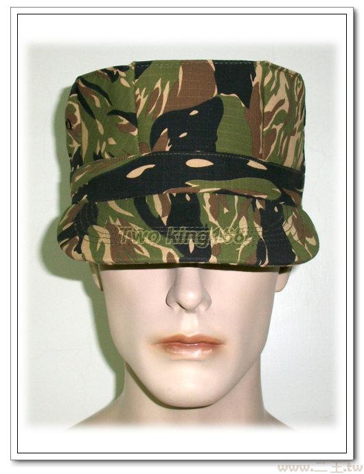 ★☆綠虎斑迷彩八角帽★☆Cosplay★☆軍帽★☆小帽★☆棒球帽★☆闊邊帽★☆八角帽★☆潮流