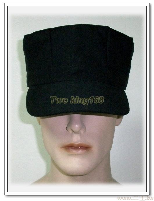 ★☆特勤隊黑色八角帽★☆Cosplay★☆軍帽★☆小帽★☆棒球帽★☆闊邊帽★☆八角帽★☆潮流