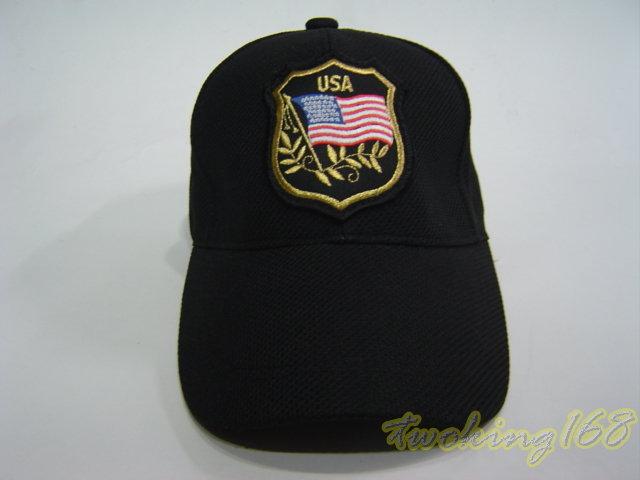 ★美國國旗榮譽徽小帽NO.2-8★Cosplay★軍帽★小帽★棒球帽★闊邊帽★八角帽★潮流