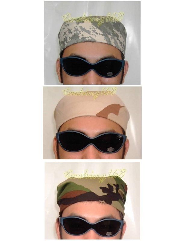 二王軍警用品社~美軍白虎斑迷彩服系列~迷彩頭巾/三角頭巾/三角巾<共有8種>