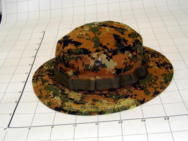 ★☆美軍陸戰隊數位迷彩擴邊帽★☆Cosplay★☆軍帽★☆小帽★☆棒球帽★☆闊邊帽★☆八角帽★☆潮流
