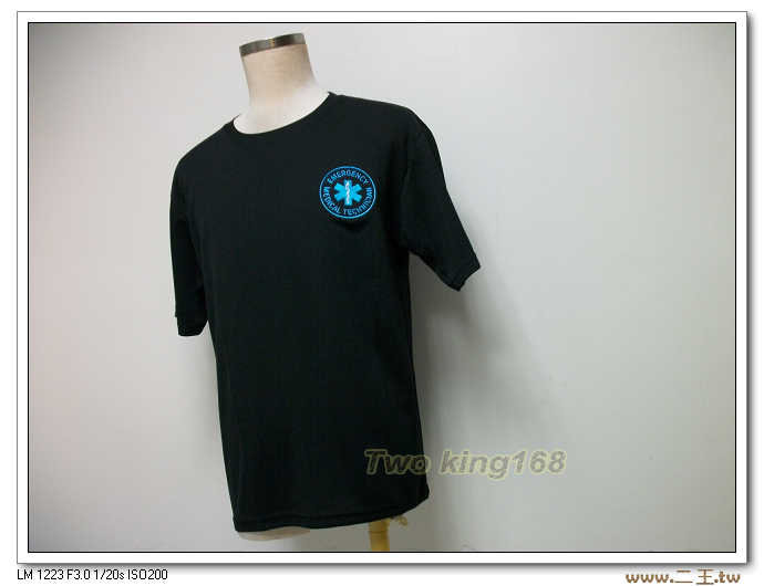 EMT排汗衫(電腦刺繡)NO.47緊急救護技術員T恤