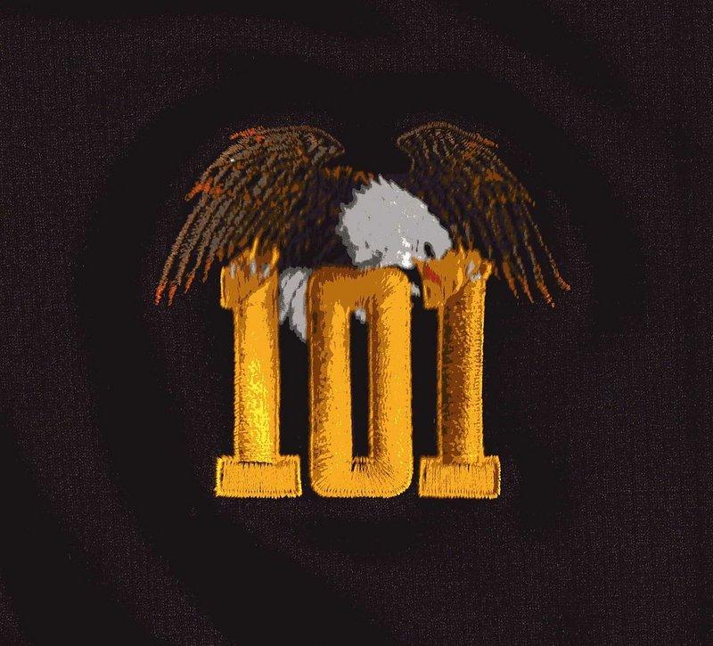★美國101空降師排汗衫電腦刺繡NO.3★Cosplay★T Shirt★T恤★排汗衫★陸軍海軍空軍