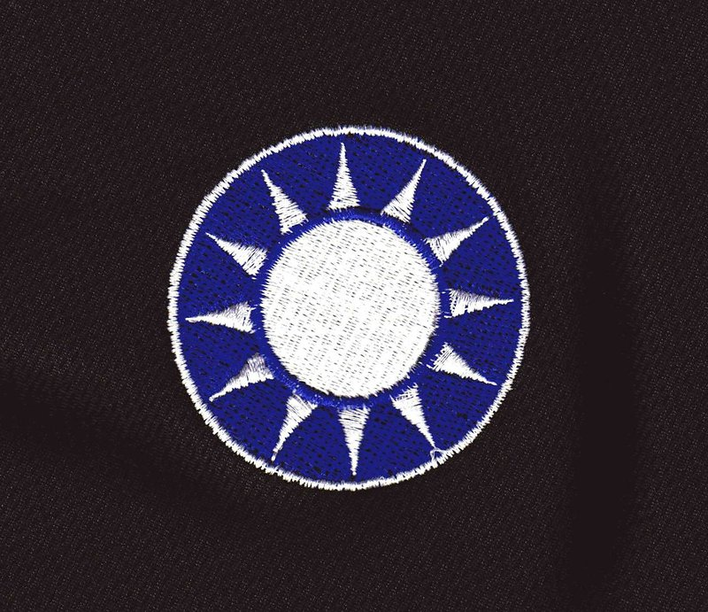 ★國民黨黨徽排汗衫電腦刺繡NO.36★Cosplay★T Shirt★T恤★排汗衫★陸軍★海軍★空軍