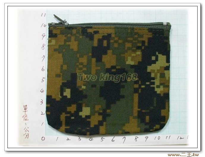 美國海軍陸戰隊數位迷彩零錢包-C1-1