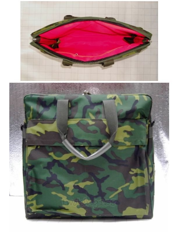 二王★軍官專用-布面大型防水飛行頭盔袋(迷彩)★Cosplay★軍用品★裝備★配件包包★軍事風格★潮流