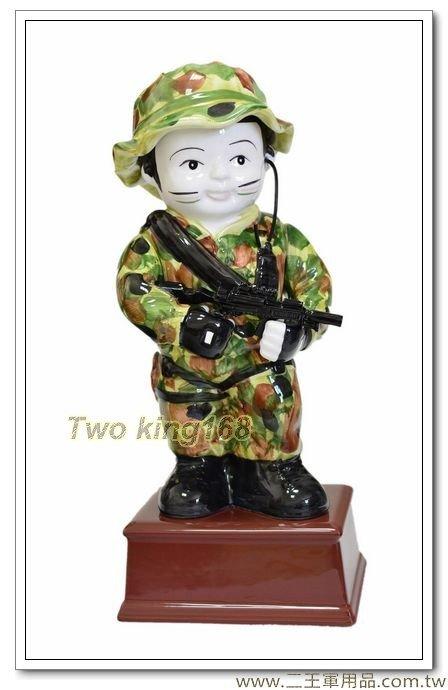 陸軍特戰部隊娃娃陶瓷存錢筒 (限店內自取)