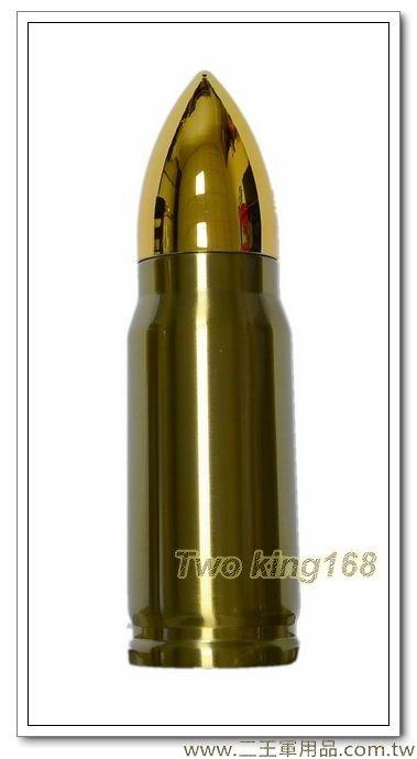 金色子彈型保溫瓶保溫水壺350ml