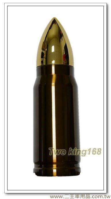 銅色子彈型保溫瓶保溫水壺350ml
