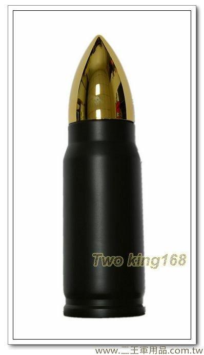 墨綠色子彈型保溫瓶保溫水壺350ml