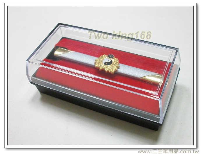 ★t29國防大學陸軍學院高級領夾+膠盒 領帶夾