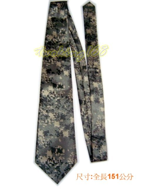 ACU數位迷彩服系列~絲質領帶/軍用領帶