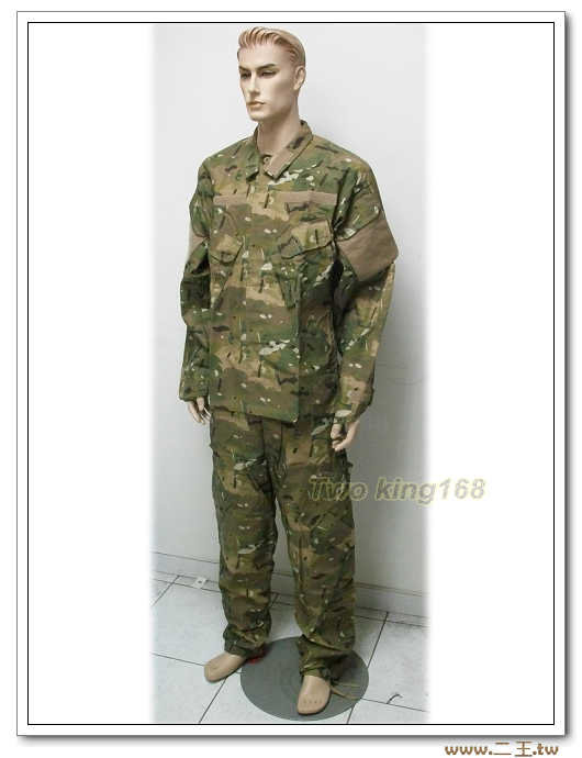 ☆Multicam 多地形迷彩服組 美軍 野戰服 野戰褲