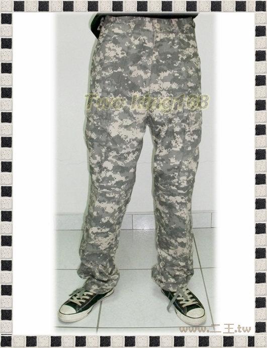 ★☆美軍ACU數位迷彩服長褲★迷彩褲★☆生存遊戲★☆野戰褲