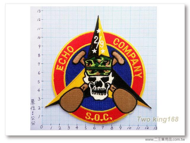 美國海軍陸戰隊第三陸戰師二支隊第九獨立兩棲偵察連-國外556-100元