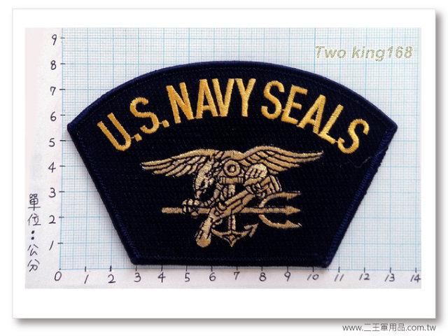 美國海軍海豹部隊帽徽-國外555-100元