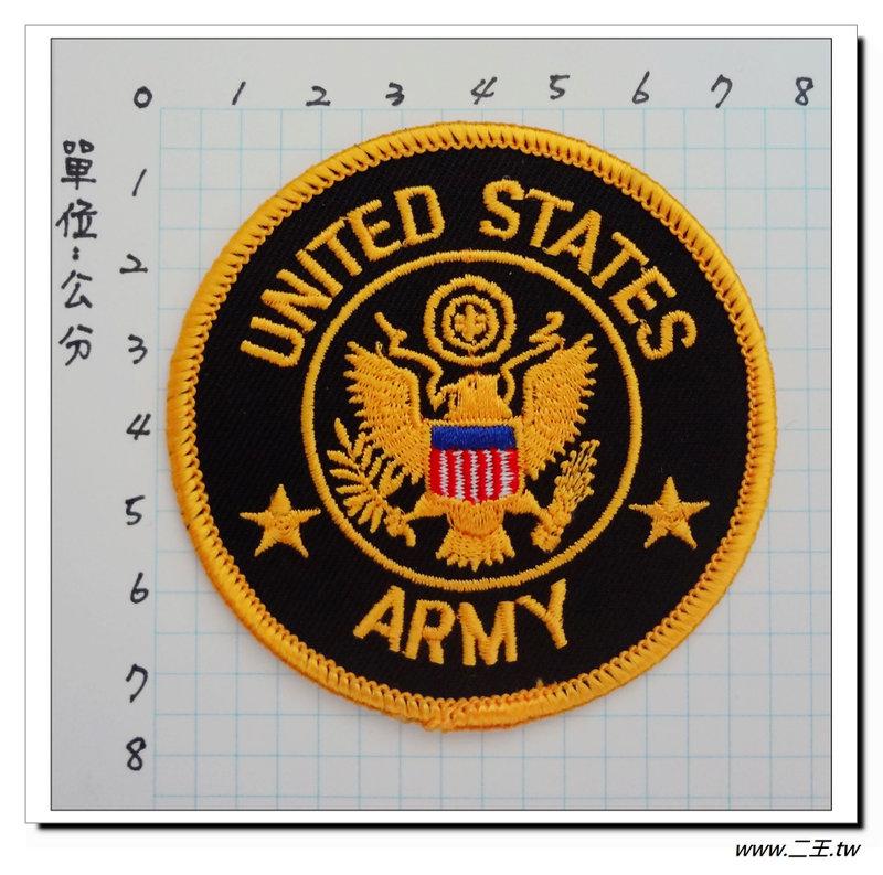 ★★美國臂章☆美國陸軍經典臂章(圓)-70元-國外534
