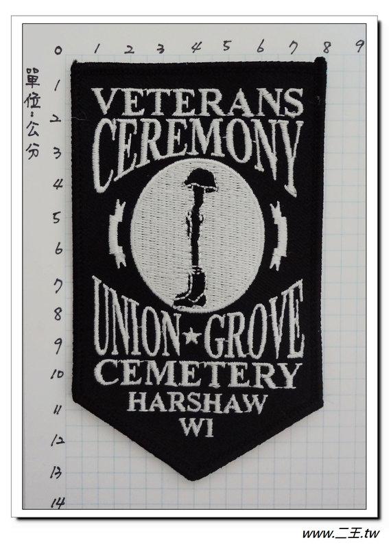 ★★美國臂章☆美國陸軍-美國陣亡將士紀念章-100元-國外530