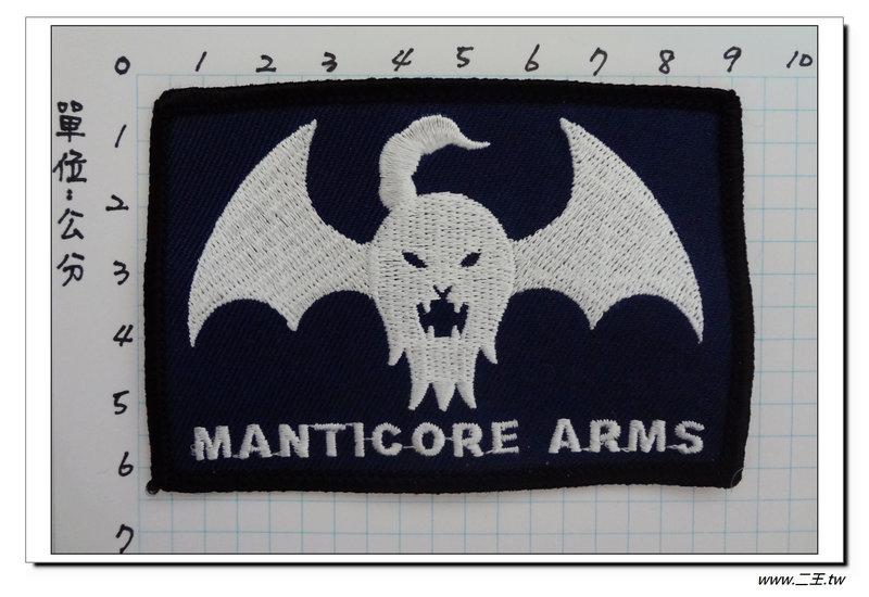 ★★美國臂章☆美國陸軍-美國怪獸武器製造公司(AK47步槍製造)-藍色-80元國外528