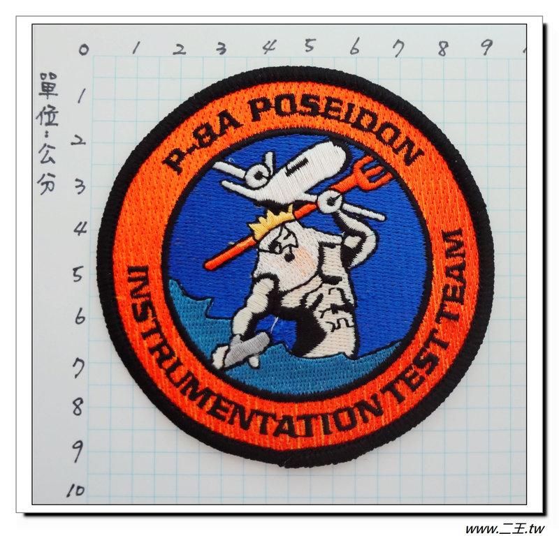 ★★美國臂章☆美國海軍臂章-(P-8A)海神式海上巡邏機(大)-反潛機-90元國外500
