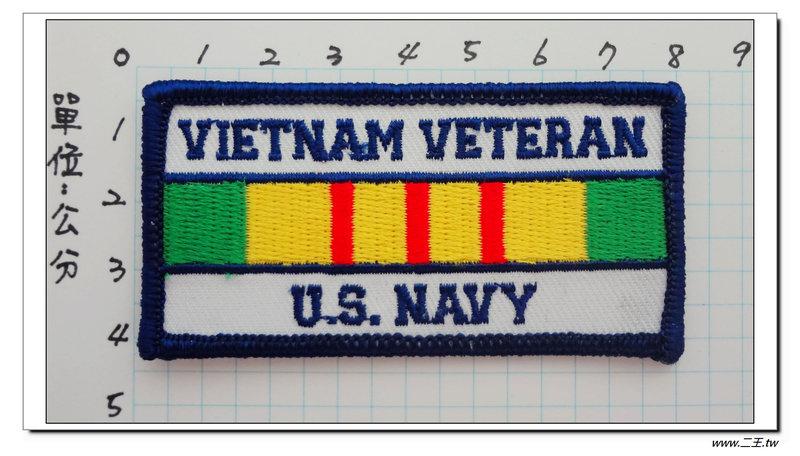 ★★美國臂章☆美國海軍-越戰老兵-60元-國外496