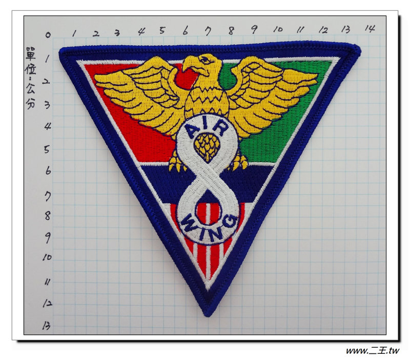 ★★美國臂章☆美國海軍航空兵-機聯中隊-100元-國外493
