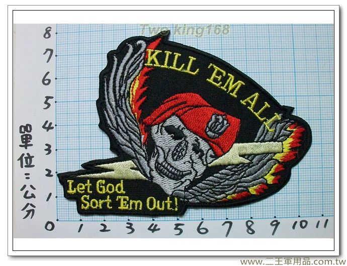 特種部隊臂章(ALL ME KILL)1-63