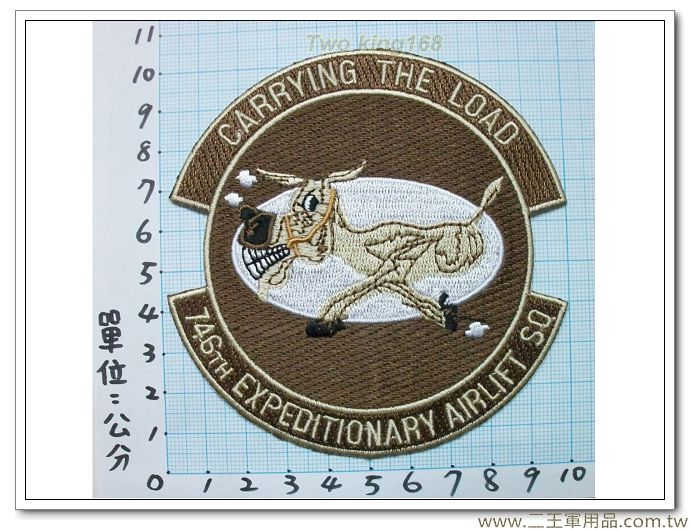 美國空軍臂章-美國空運遠征76旅-國外422-100元