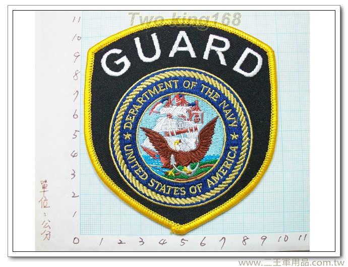 美國海軍警衛隊-美國海軍臂章-國外340
