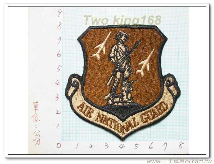 ★美國空軍國家警衛隊-國外135-2 臂章
