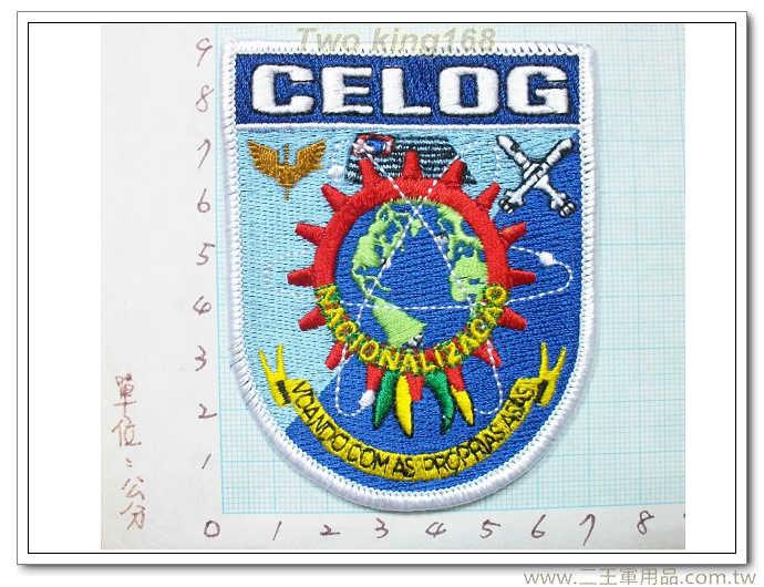 ☆CELOG 洲際飛彈系統(小) -國外177 臂章