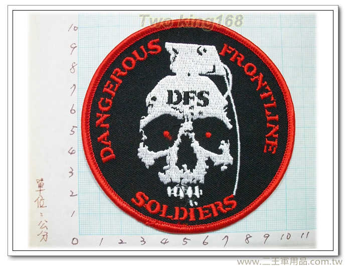 美國海軍陸戰隊臂章(前線士兵)國外2