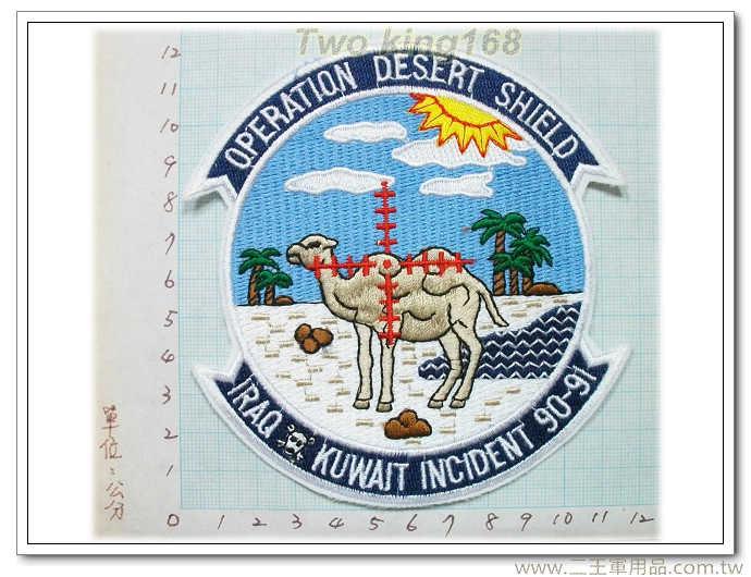 美軍沙漠風暴紀念章-波灣戰爭-波斯灣戰爭紀念章-5-28