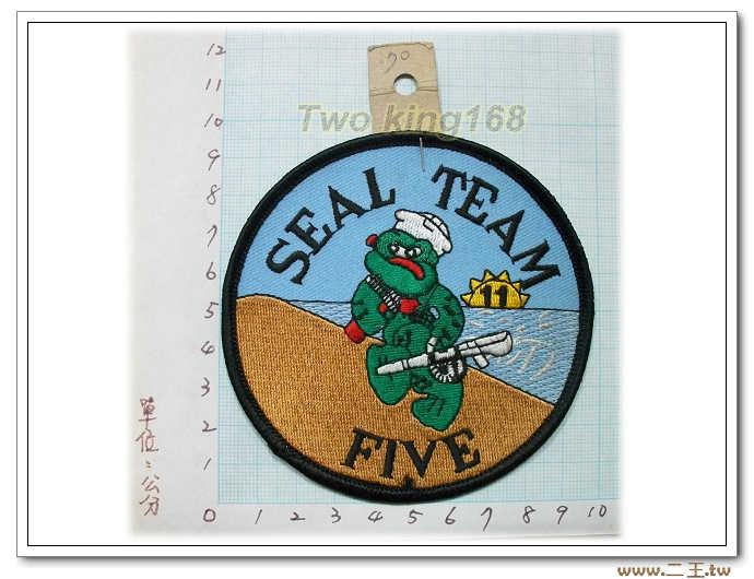 5-36-美國海軍特種部隊海豹5隊--海豹部隊臂章