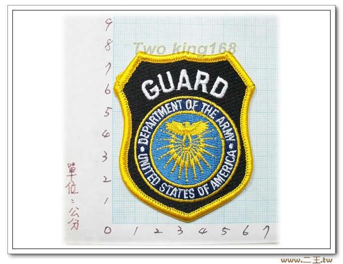 ☆10-14-2美國陸軍司令部警衛隊(小) 美軍 臂章