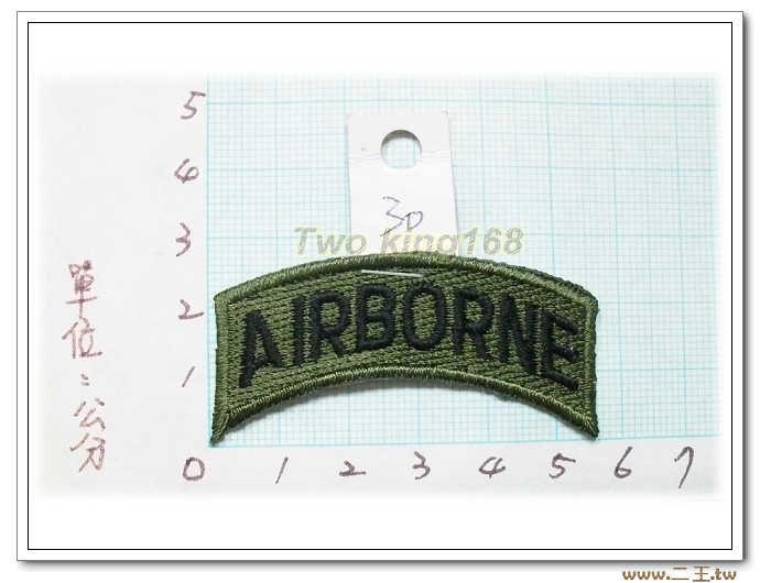 5-3-1美軍空降完訓資格飄帶章--美軍臂章--美國陸軍臂章