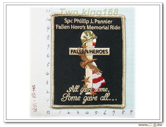 菲律賓陣亡將士紀念章-國外63-台灣製造外銷國外臂章.數量有限值得珍藏