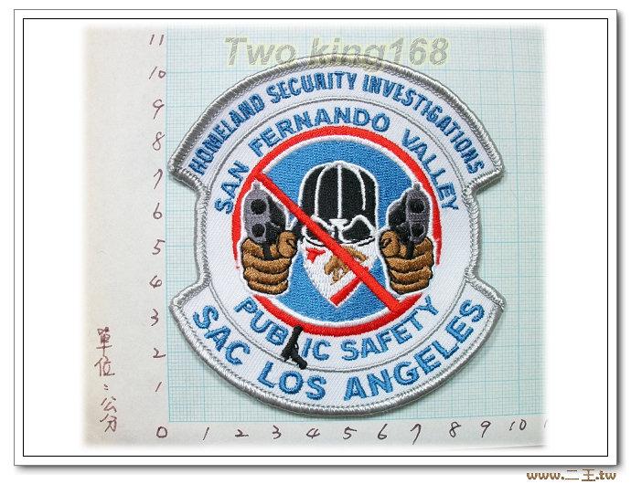 ☆美國國土安全局舊金山安全部門 臂章-國外50-
