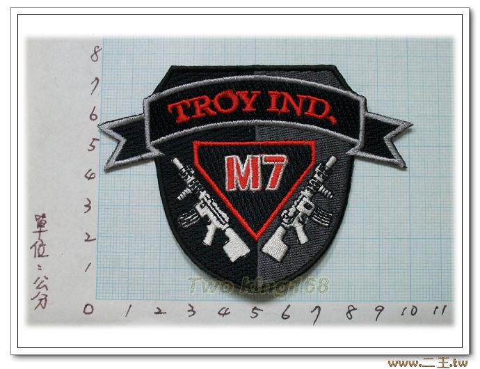 特洛伊實業臂章M7-7-29