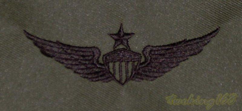 美軍陸軍高級航空章 胸章 技能章 ☆★美國 陸軍 叢林迷彩 迷彩服 早期 低視度 野戰服