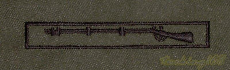 美軍步兵戰鬥章 胸章 技能章☆美國 陸軍 叢林迷彩 迷彩服 早期 低視度 野戰服