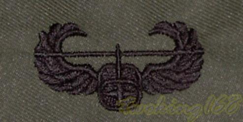美軍 空中突擊章 胸章 技能章/★美國 陸軍 叢林迷彩 迷彩服 早期 低視度 野戰服