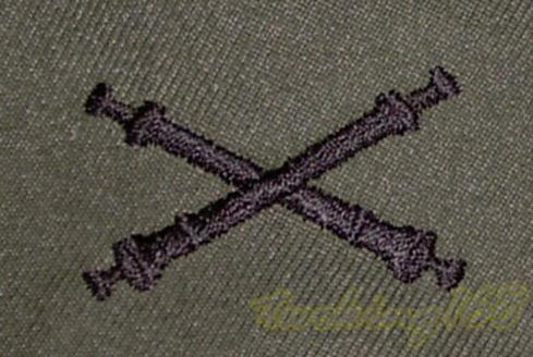 @社@美軍砲兵領章/☆美國 陸軍 叢林迷彩 迷彩服 早期 低視度 野戰服